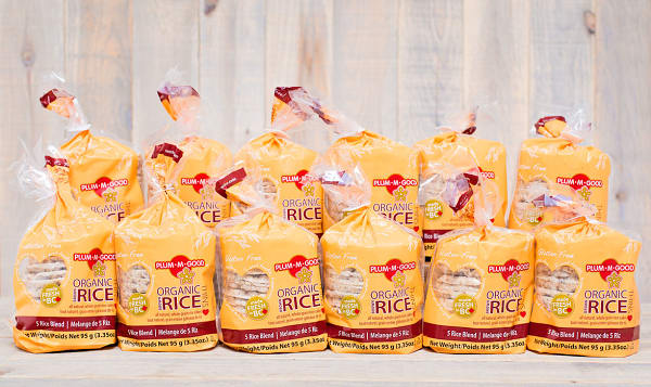 Organic Rice Thins - 5 Rice Blend - CASE
