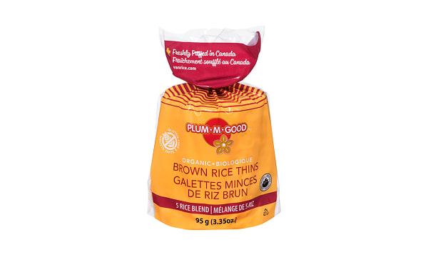 Organic Rice Thins - 5 Rice Blend