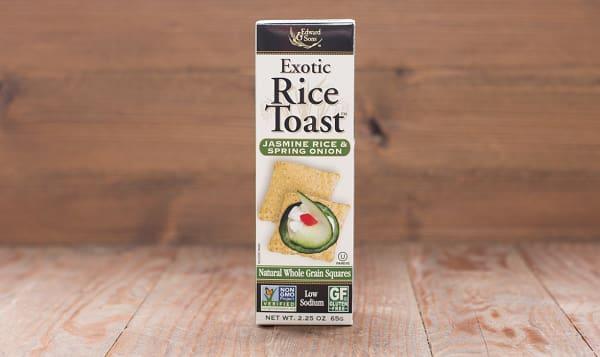 Exotic Rice Toast - Jasmine Rice & Spring Onion