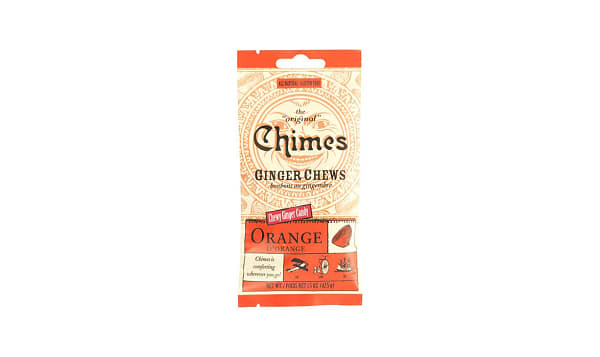 Ginger Chews - Orange