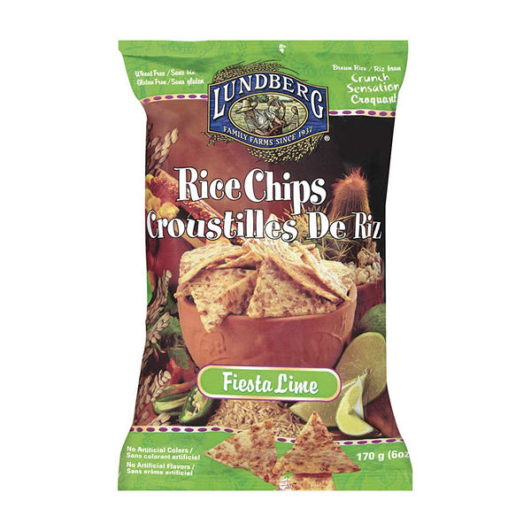 Rice Chips - Fiesta Lime