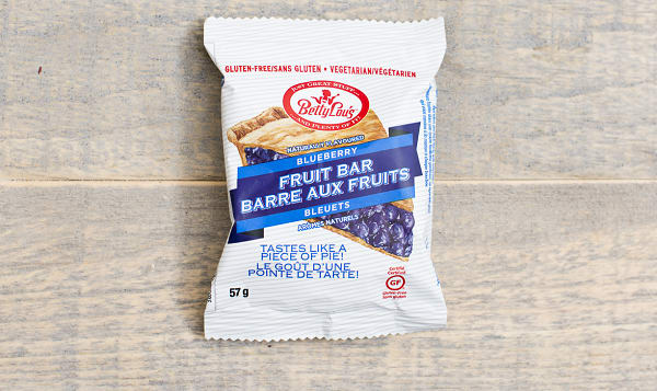 Blueberry Fruit Bar