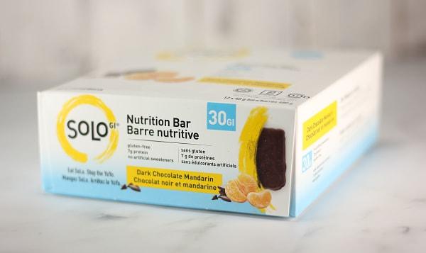 Dark Chocolate Mandarin Energy Bar - CASE