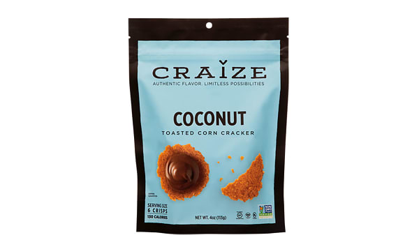 Coconut Toasted Corn Crisp