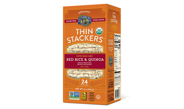 Thin Stackers - Red Quinoa