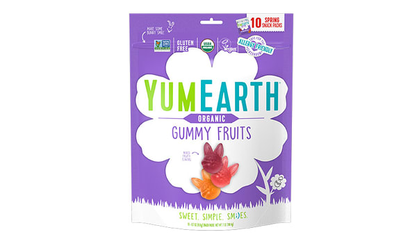 Organic Easter Gummy Fruits