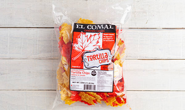 Maple Leaf Tortilla Chips