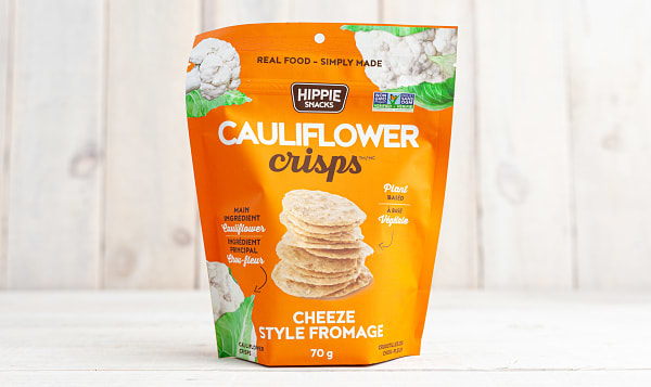 Cheeze Cauliflower Crisps