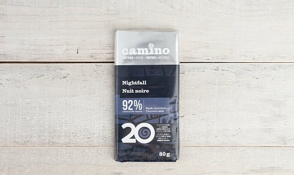 Organic Nightfall Chocolate Bar 92%