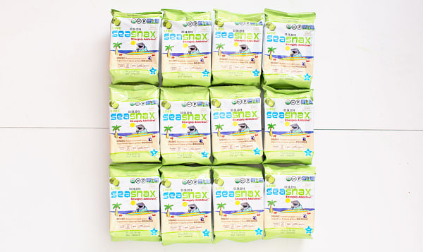 Organic Big Grab & Go Seaweed Snacks Lime - CASE