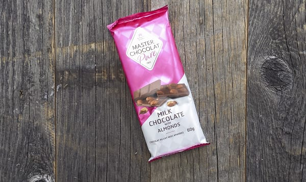 Milk Chocolate with Organic Almonds