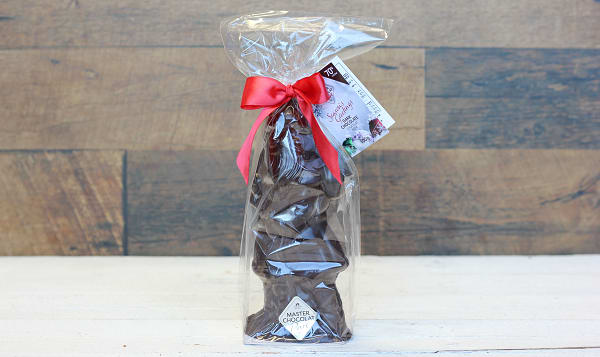 Large Dark Chocolate Santa 100g