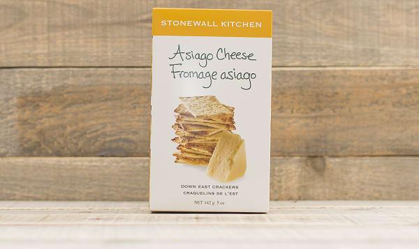 Asiago Crackers