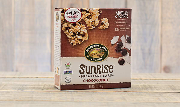 Organic Chococonut Granola Bars, Box of 5