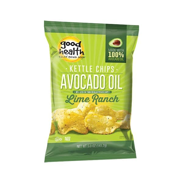 Lime Ranch Avocado Potato Chips