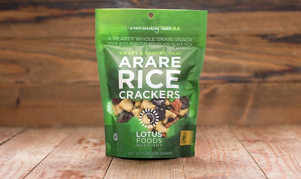 Sweet & Savoury Thai Arare Rice Crackers
