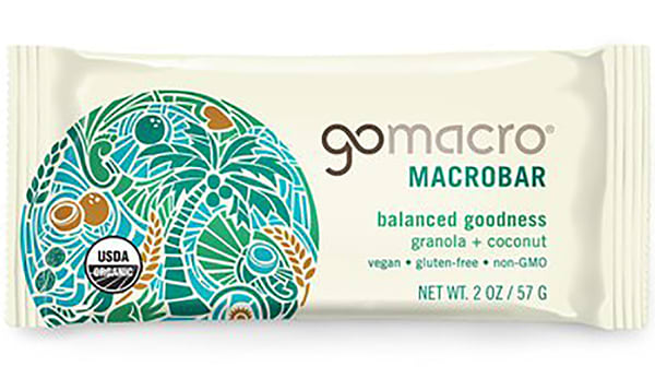 Organic Granola & Coconut Bar