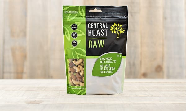 Raw Mixed Nuts - Unsalted