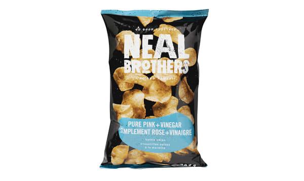 Pink Salt & Vinegar Kettle Chips