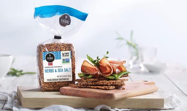 Herbs & Sea Salt Crispbread