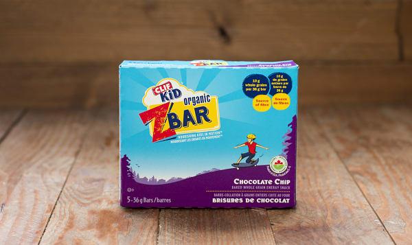 Organic Zbar Chocolate Chip Bar