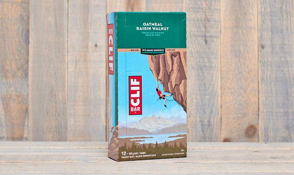 Clif Oatmeal Raisin Walnut Bar - CASE