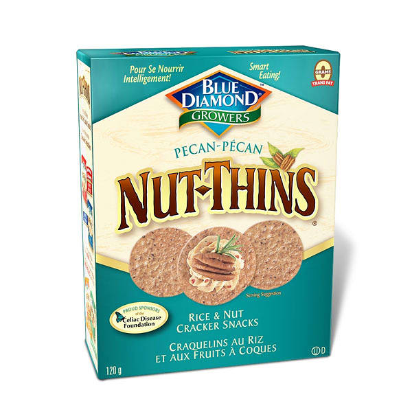 Pecan Nut Thins Rice Crackers