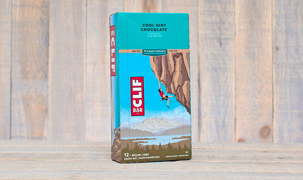 Cool Mint Chocolate Energy Bar - CASE