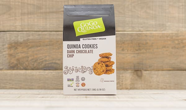 Organic Dark Chocolate Chip Cookies