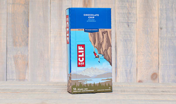 Chocolate Chip Energy Bar - CASE