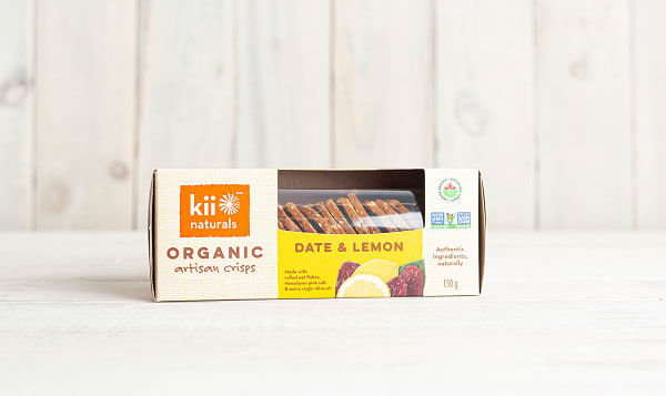 Organic Date & Lemon Crisps
