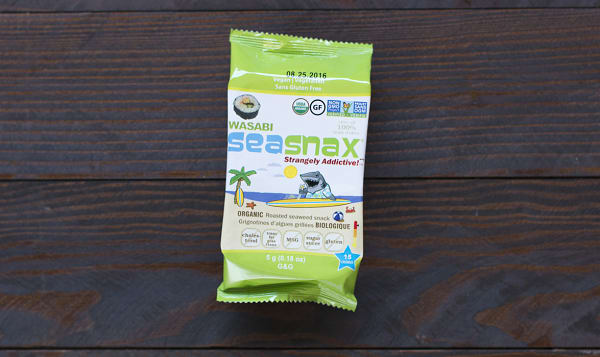 Organic Grab & Go - Wasabi