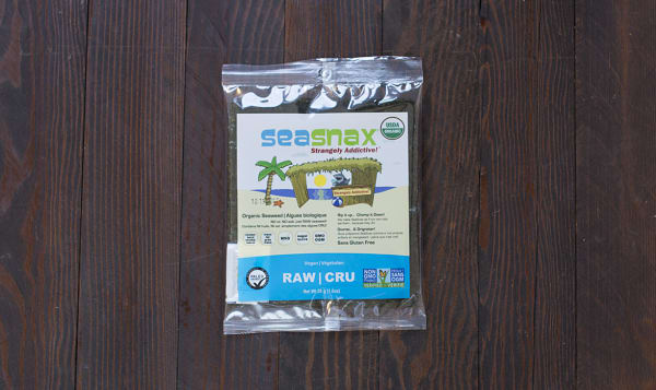 Organic Seaweed Sheets - Raw