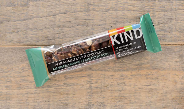 Dark Chocolate Almond Mint Bar