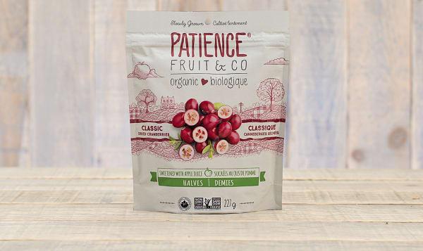 Organic Classic Dried Cranberries - Fruit Juice Sweetened