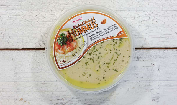 Baked Falafel Hummus