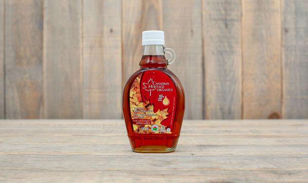 Organic Maple Syrup - #2 Amber, Grade A, Dark