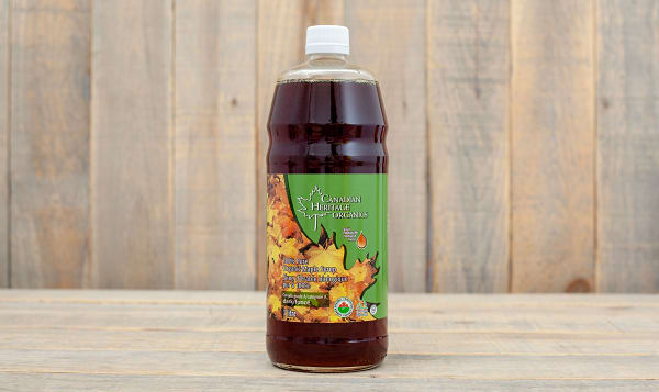 Organic Maple Syrup - #2 Amber, Grade A, Dark