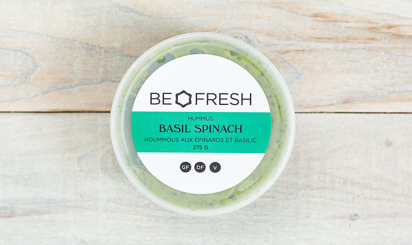 Basil and Spinach Hummus