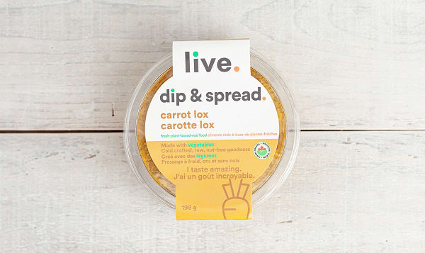 Organic Carrot Lox Spread