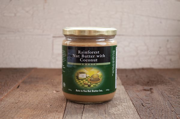 Rainforest Butter - Cashew, Brazil and Coconut