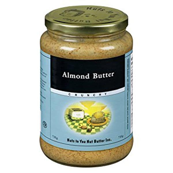 Crunchy Almond Butter