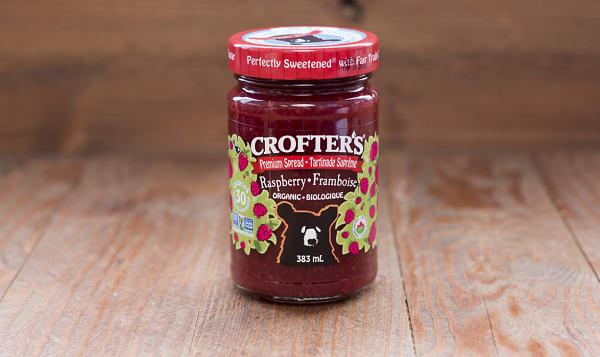 Organic Raspberry Premium Fruit Spread