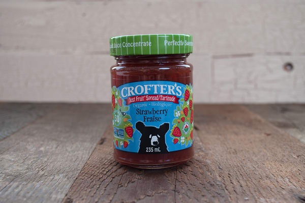 Organic Strawberry Just Fruit Spread