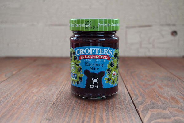 Organic Blackberry Just Fruit Spread