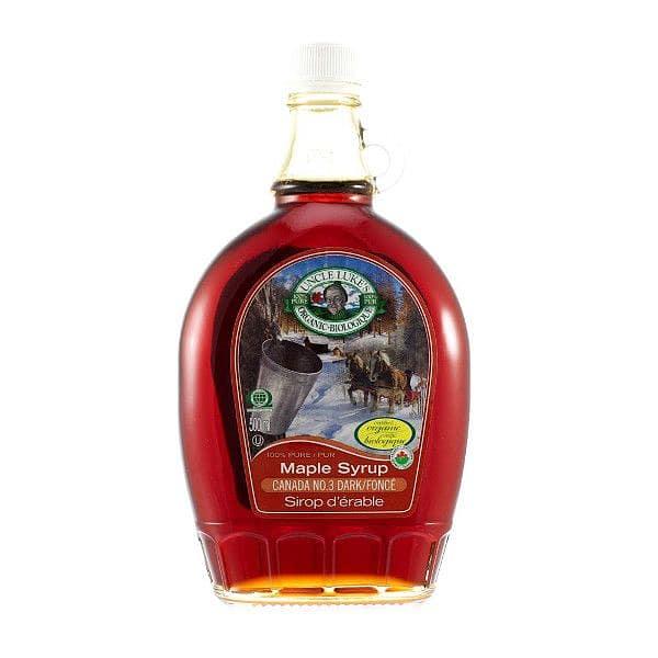 Organic Luc Bergeron's /Pure Maple Syrup Canada #3 Dark