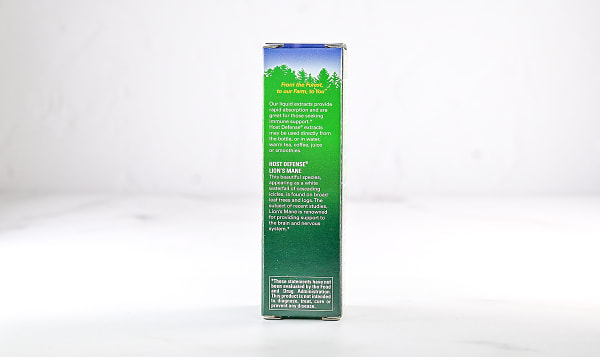 Organic Lion's Mane (Hericium Erinaceus) Extract