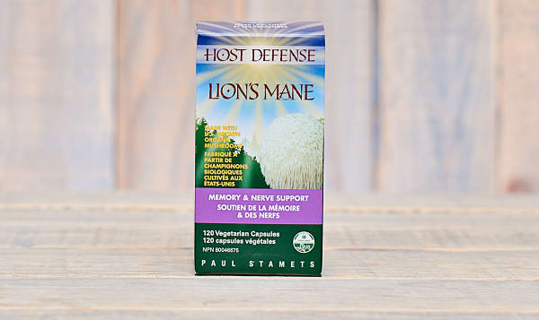 Organic Lion's Mane (Hericium Erinaceus) Capsules