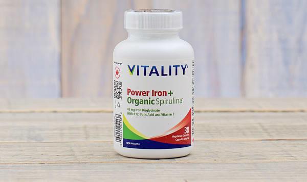 Organic Power Iron + Spirulina
