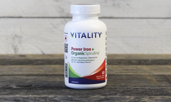 Organic Power Iron + Spirulina